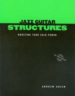 jazz guitar structures andrew green multimedia set $ 22 45