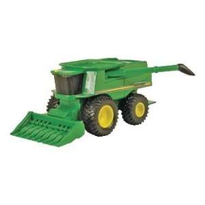 John Deere Mini Toy Combine with Corn Head #35652: Toys