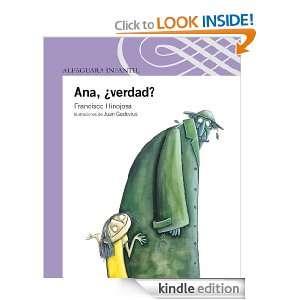Ana, ¿verdad? (Spanish Edition) Hinojosa Francisco