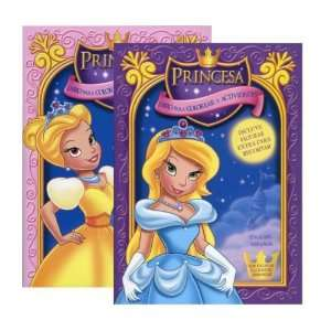 Princesa II Libro Para Colorear Y Actividades Case Pack 48