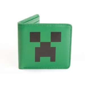 Official Licensed Minecraft Genuine Leather Creeper Wallet