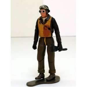 P 51 Mustang Pilot, 1/18th Scale Figure Toys & Games
