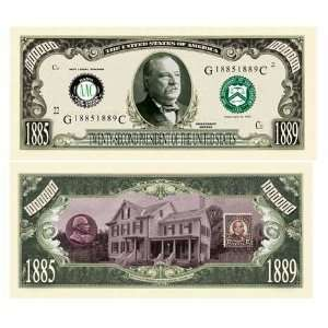 Grover Cleveland Million Dollar Bill Case Pack 100 Toys & Games