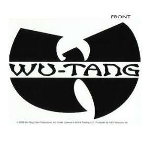 Wu Tang Clan   Logo Sticker