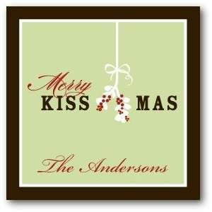 Gift Tag Stickers   Merry Kissmas By Fine Moments: Everything Else