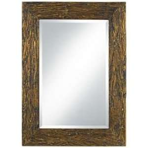Uttermost Coaldale Antique Gold 39 High Wood Wall Mirror