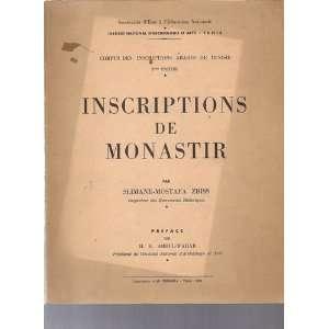 Tunisie, 2ème partie: Slimane Mostafa; H.H. Abdul Wahab Zbiss: Books