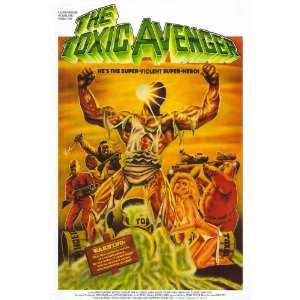 The Toxic Avenger Movie Poster (27 x 40 Inches   69cm x