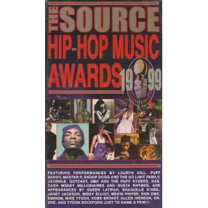 1999 Souce Hip Hop Music Awards [VHS] Source Hip Hop