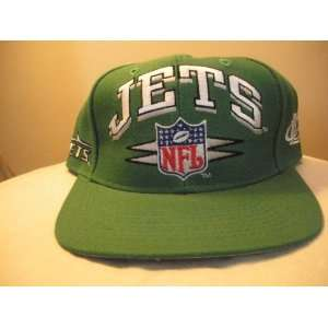 New York Jets Vintage Spike Snapback Hat Everything Else