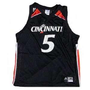 Cincinnati Bearcats Black #5 NCAA Screen Printed Mesh