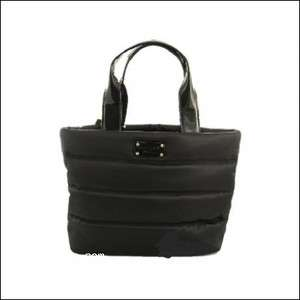 Kate Spade Black Lydia Alpine Hills Bucket Tote Purse Bag NEW! NWT! $