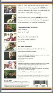 Joey Fatone Lance Bass JC Chasez Chris Kirkpatrick   NSYNC VHS