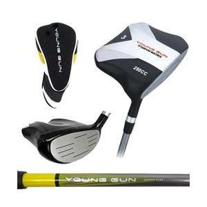 Young Gun 250cc Junior Square 3 WOOD YELLOW RH (heights 36