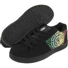 ELEMENT BRISTOL Mens Skate Shoes *NEW Black RASTA 10 12