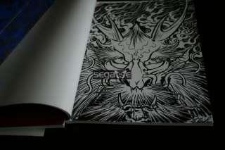 Filip Dragon Sketch Tattoo Flash Book Art magazine A&B |