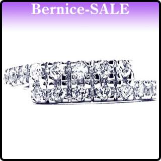 Special Gift Jewelry Fine White Topaz 925 Sterling Silver Ring Size 9