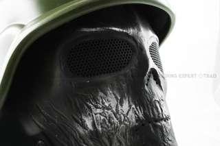 GHOST RECON Skull Metal Full Mask Black 01557