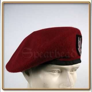 WW2 British Special Air Service Maroon Beret