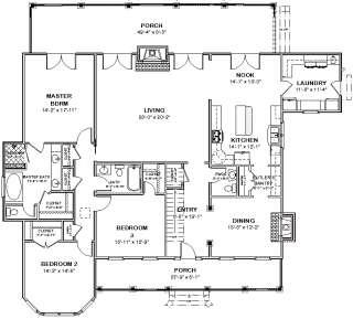 complete house plans floor plans 1376 s f 3 bed 2 ba