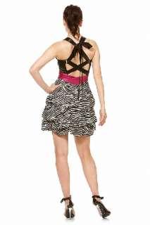 Zebra Print Mini Dress MANY Sizes & Colors PO5916