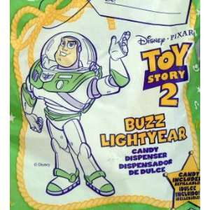 TOY Story 2 ~ McDonalds   BUZZ LIGHTYEAR Candy Dispenser