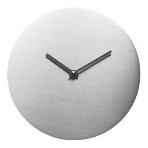 Steel Design Wallclock WALLI Ø 8 in No.3426
