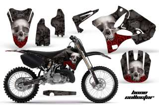ROAD MOTORCYCLE GRAPHIC DECO MX KIT YAMAHA YZ 125/250 02 11 BCK