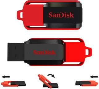 New Sandisk Cruzer Switch 16GB 16 GB USB Flash Memory Pen Drive SDCZ52