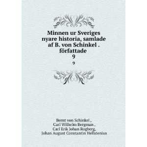 , Johan August Constantin Hellstenius Bernt von Schinkel : Books