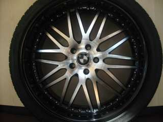 22 BMW WHEELS/RIM+TIRES 650i 645i M6 745i 750i 760i