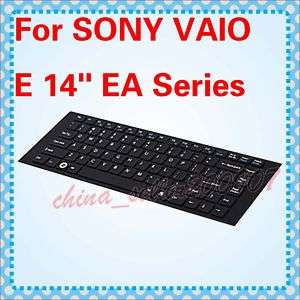 Black SONY VAIO 14 inch EA Series Keyboard Cover Skin