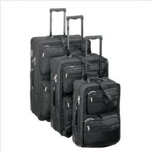 Goodhope Bags 6900 High Voltage 3 Piece Upright Luggage