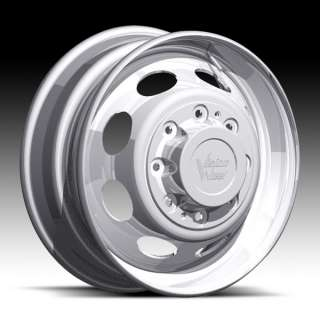 19.5 X 6.75 DIRECT BOLT CHEVY FORD DODGE DUALLY WHEELS