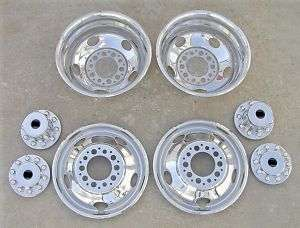 19.5 Chevy / GMC P30 Dually Wheel Simulators