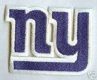 New York Giants NFL Football Patch Sports Crest (blue)
