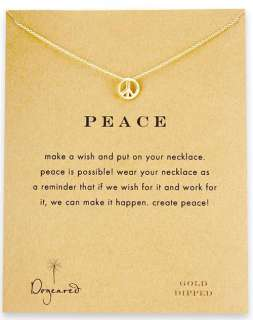 Nice Cool Fashion Necklace peace sign Pendants COLORFUL
