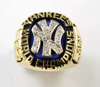 1977 New York Yankees World Series Gold Ring Product Image