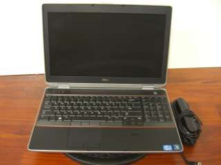 DELL LATITUDE E6520 P14F CORE i5 2520 2.5GHz, 4GB RAM, 160GB HDD, SLIM