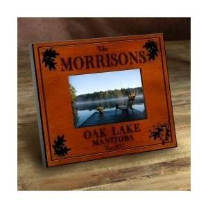 Cabin Series Personalized Picture Frame (All the Text
