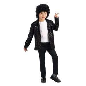Black Sequin Billie Jean Childrens Michael Jackson