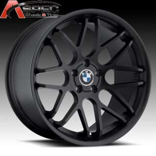 MATT BLACK RIM WHEELS FITS 5X120 BMW E39 E60 5 6 7 SERIES M5 M6