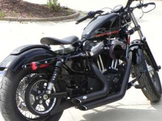 2010 2012 Black Sportster Harley Nightster Iron 48 Seat pad Kit Made