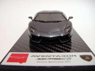 43 Make Up Lamborghini Aventador LP700 4 Grigio Estoque Miniwerks