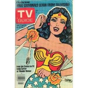 COVER LYNDA CARTER AS WONDER WOMAN, Wonderwoman Design, W. Goldberg