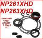 NP261XHD, NP263XHD GM 01+TRANSFER CASE GASKETS & SEALS