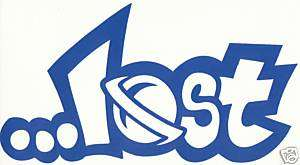 LOST Surfboards Surf Stickers Decal 6.5 BLUE 11A8
