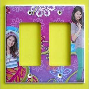 Wizards of Waverly Place Alex Russo Double ROCKER GFI Switch Plate