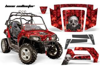AMR RACING GRAPHICS POLARIS RZR 800 RZRS STICKER KIT BR