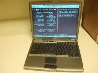 Dell Latitude D600 Laptop PM 1.6 GHz/ 512 MB RAM / 40 GB HDD **SOLD AS